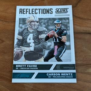 2017 Score Reflections Brett Favre Carson Wentz